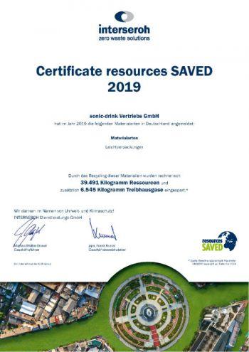 resources SAVED Zertifikat web